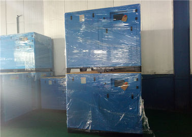 90KW Small Screw Air Compressor , Oil Injected Screw Compressor 3 Phase
