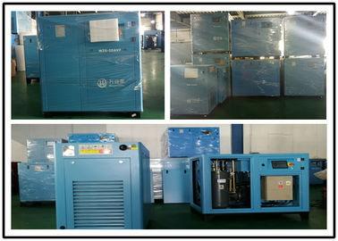 45KW Variable Speed Screw Compressor , Permanent Magnetic Air Compressor