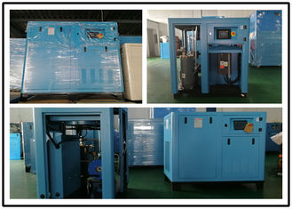 Single Stage Portable Screw Air Compressor , Low Decibel Air Compressor 37kw 50 HP