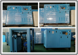 China High Efficiency Screw Air Compressor , Oil Injected Screw Compressor 132KW 180HP supplier