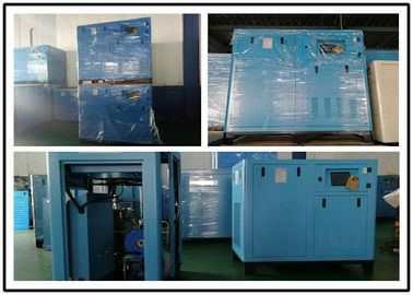 Industrial Fixed Speed Oil Lubricated Air Compressor 22KW Energy Saving