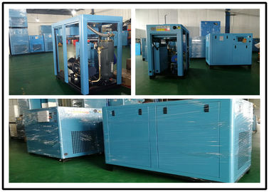 Industrial Energy Efficient Air Compressor , Screw Low Noise Air Compressor 90KW