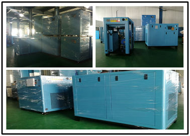 Industrial Oil Injected Screw Compressor , Stationary Air Compressor 18.5KW