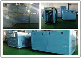 Durable Oil Injected Screw Compressor , Energy Saving Air Compressor 75kw 100hp