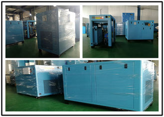 Screw Type Oil Injected Air Compressor Air Cooling 37kw 50 HP High Efficiency