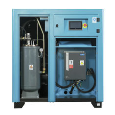 Oil Injected Single Stage Air Compressor , Powerful Stationary Air Compressor