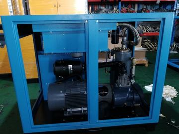 Fan Cooling Variable Speed Screw Compressor Permanent Magnetic Motor
