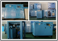 China Professional Oil Lubricated Screw Air Compressor Small Size 220KW 300hp factory