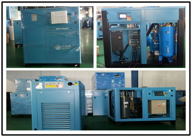 China Low Pressure Two Stage Screw Compressor With Intelligent Microcomputer Control System factory