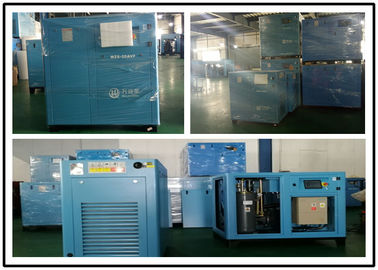 China Small Portable Variable Speed Screw Compressor 132KW Quiet Energy Saving factory