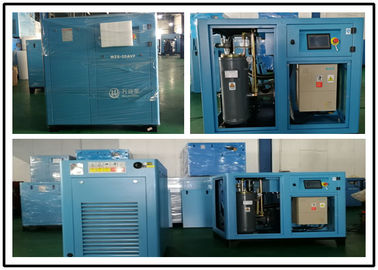 China 110KW Permanent Magnetic Screw Air Compressor , Industrial Portable Air Compressor factory