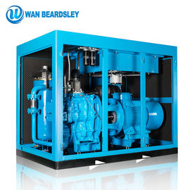 China High Pressure Two Stage Screw Compressor With Direct Driven 1800x1000x1370mm factory