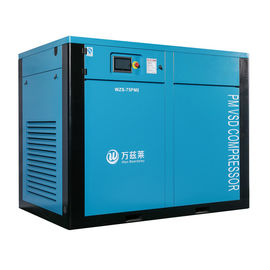 China Silent Two Stage Screw Compressor With Permanent Magnetic Motor SKF Bearing factory