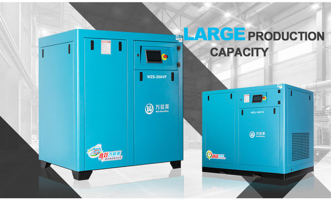 Air Cooling Direct Driven Screw Air Compressor 350kw 480hp 3 Phase